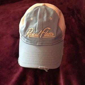 Rascal Flatts ball cap. Like new!